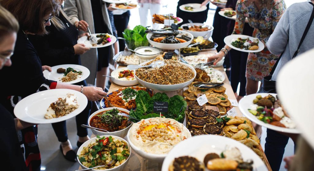 grazing table the Middle Eastern Way