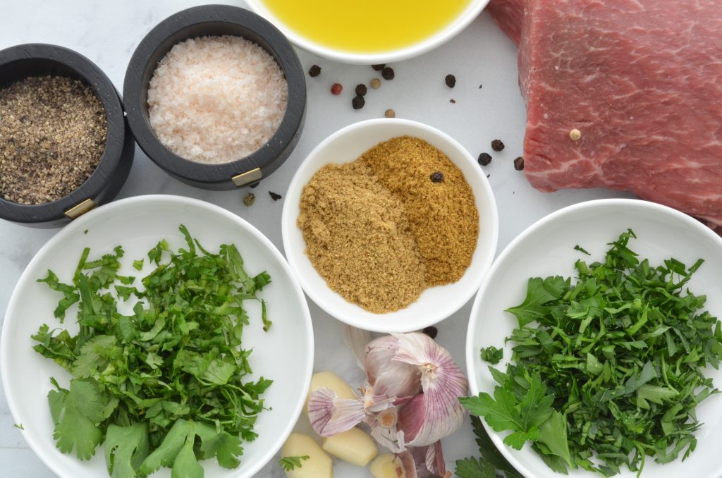 char-grilled lamb ingredients