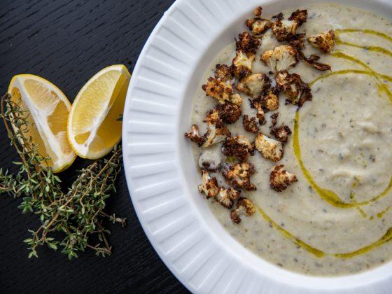 cauliflower and celery soup