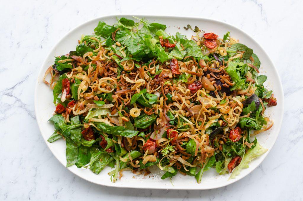sumac herb salad