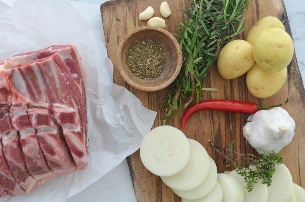 lamb roast shoulder ingredients