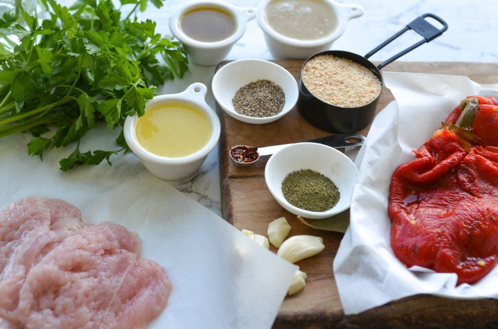 herb stuffed chicken ingredients