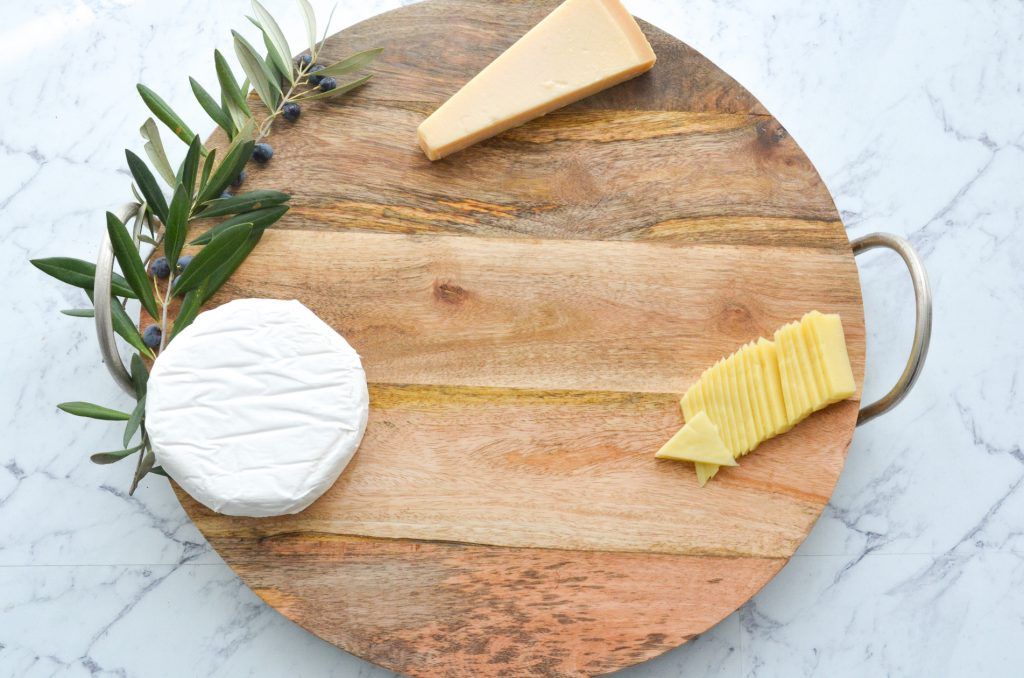 step by step cheese board