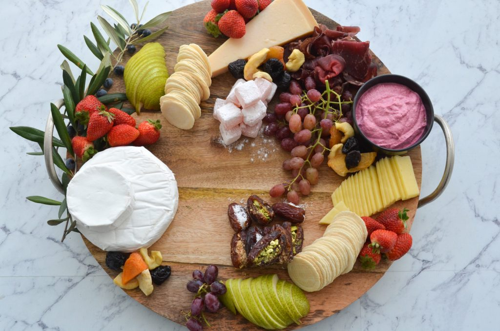 step by step cheeseboard