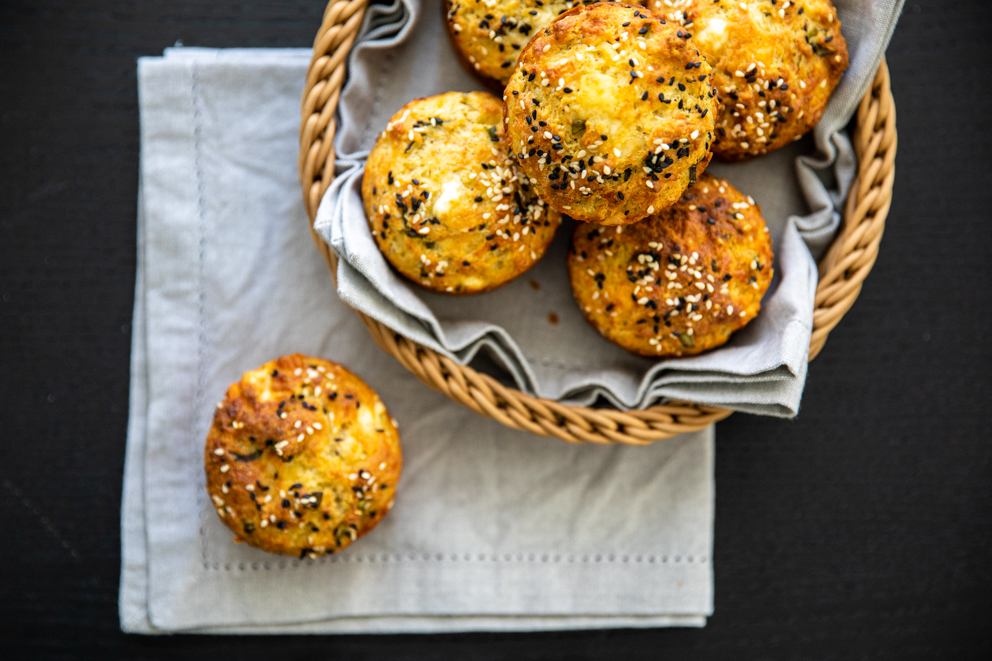 3 Cheese muffins
