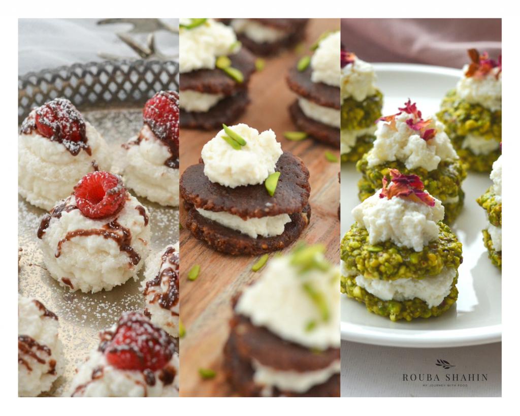gluten-free trio desserts