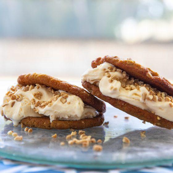 Sandwich Peanut Butter Cookies