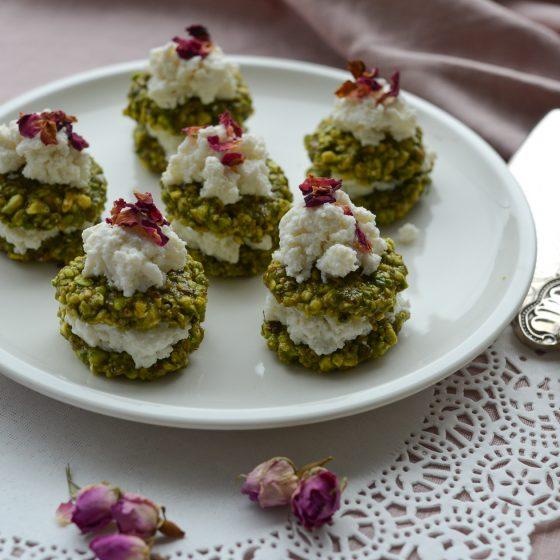 pistachio delight tartlets